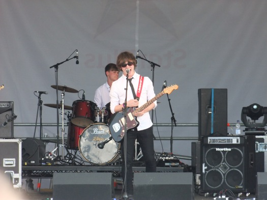 The Coller on the Village school stage