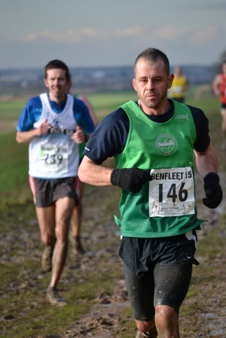 Chris Manby of Colchester Harriers