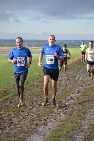 Toby Dando and Neal Marlow of Leigh on Sea Striders