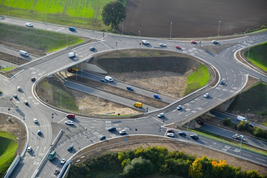 4. A13 A1014 Junction improvements - Project at completion