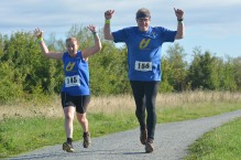 Happy runners! Love this photo.